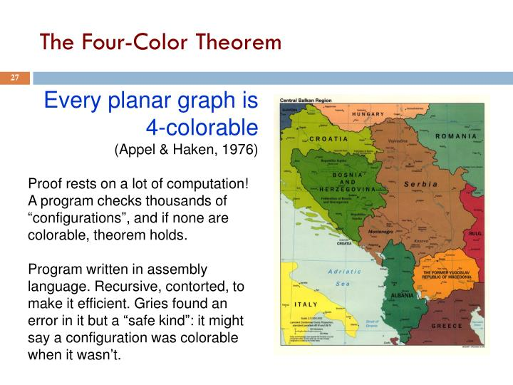 The Four-Color Theorem