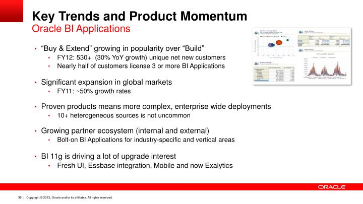 Key Trends and Product Momentum