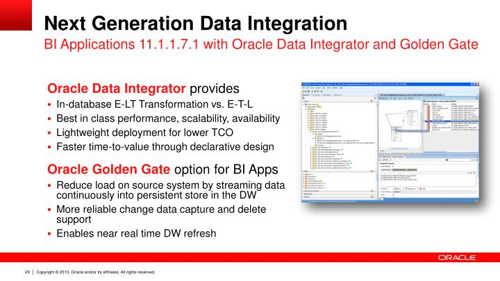 Next Generation Data Integration