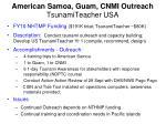 american samoa guam cnmi outreach tsunamiteacher usa