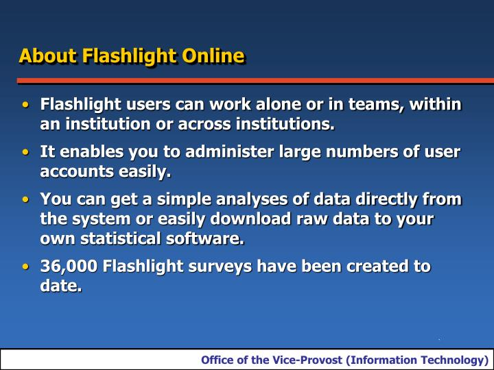 About Flashlight Online