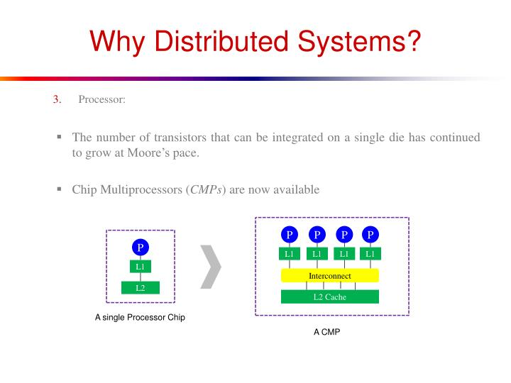 Why Distributed Systems?