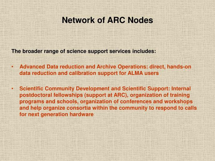 Network of ARC Nodes