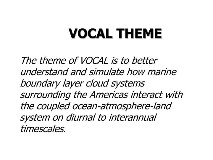 VOCAL THEME