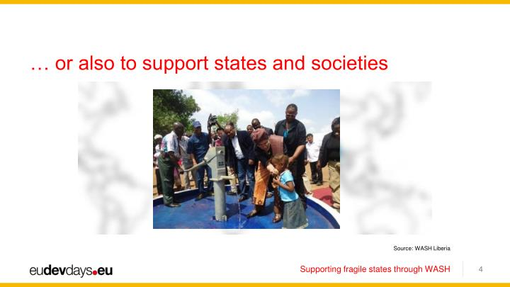 … or also to support states and societies