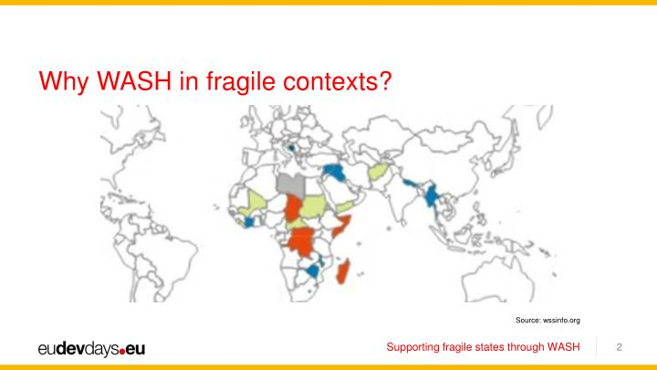 Why WASH in fragile contexts?
