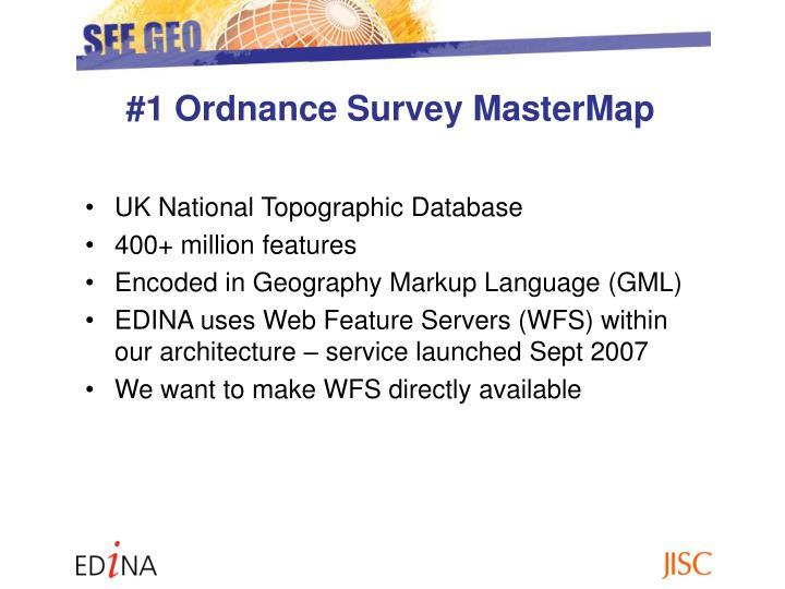 #1 Ordnance Survey MasterMap