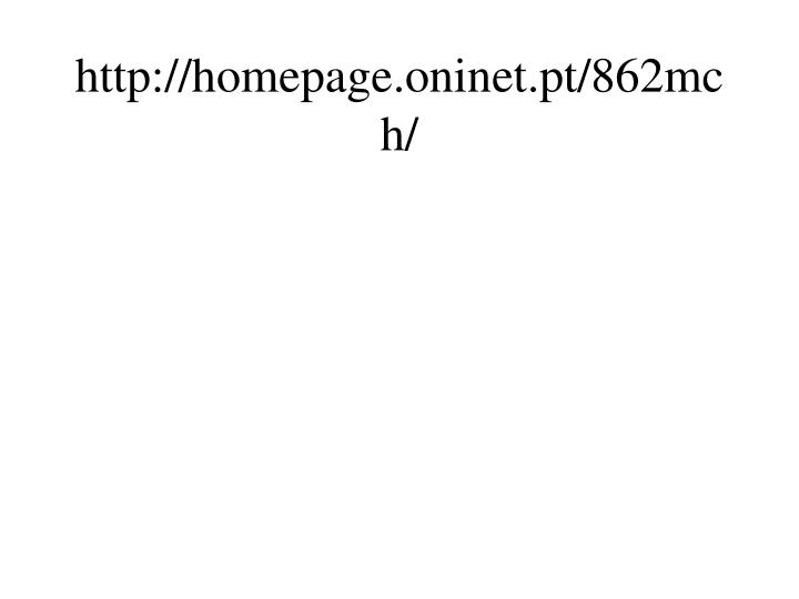 Http homepage oninet pt 862mch