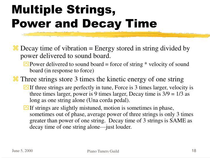 Multiple Strings,