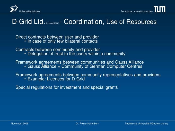 D-Grid Ltd.