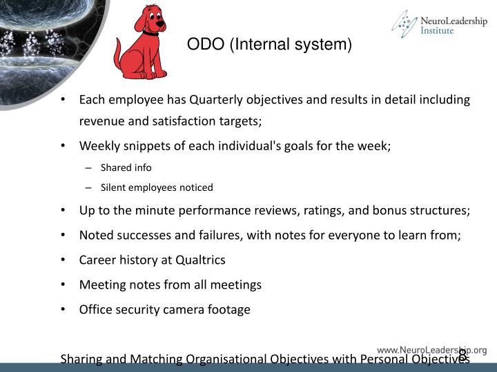ODO (Internal system)