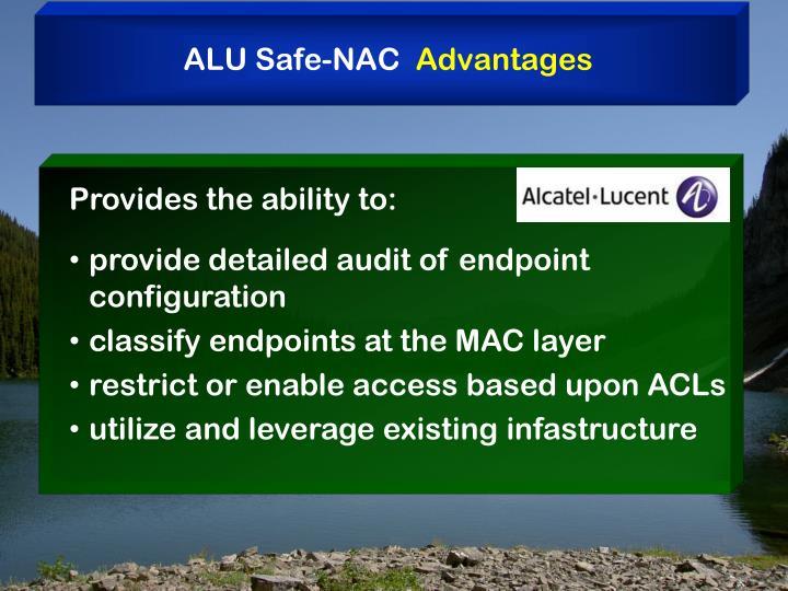 ALU Safe-NAC