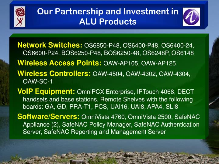 Our Partnership and Investment in