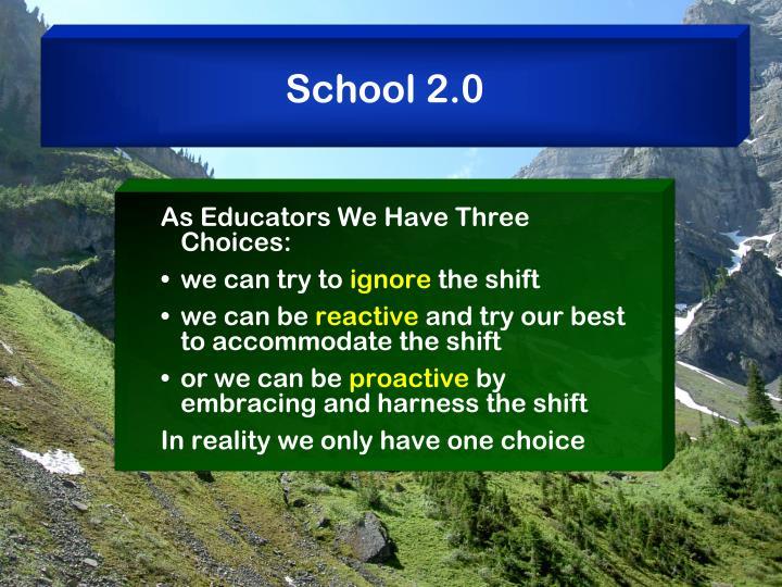 School 2.0