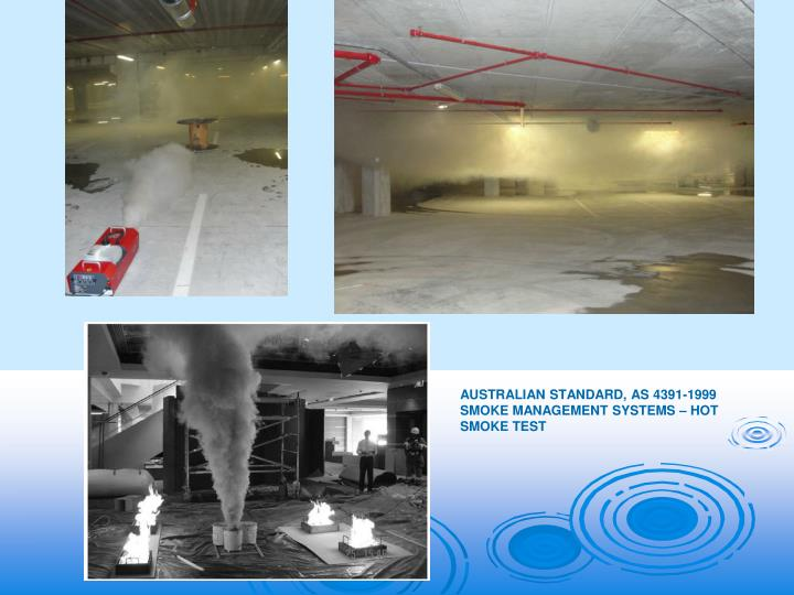 Australian Standard, AS 4391-1999 Smoke Management Systems – Hot Smoke Test