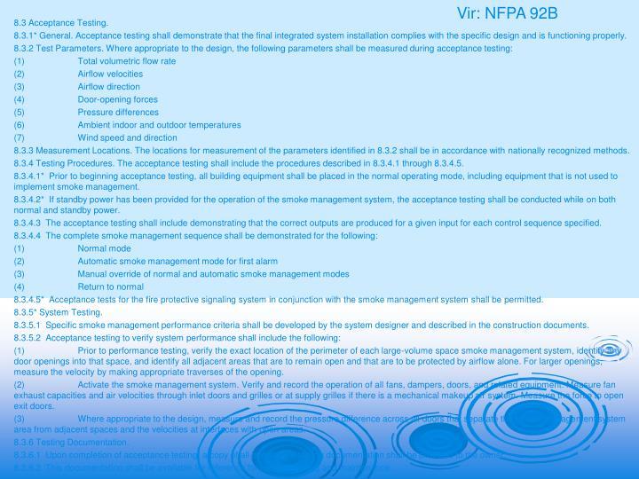 Vir: NFPA 92B