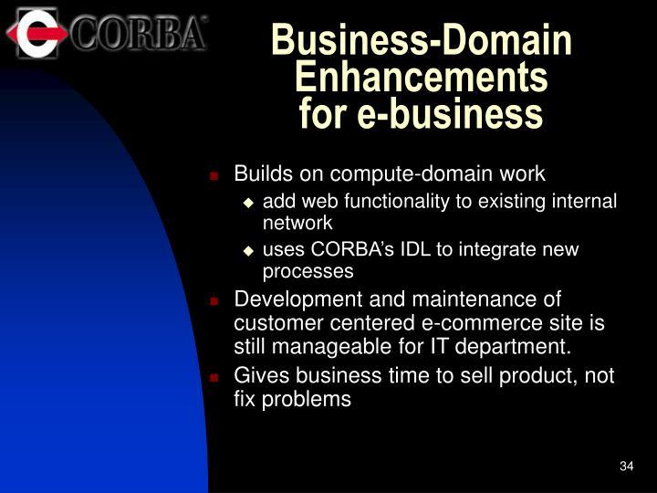 Business-Domain Enhancements