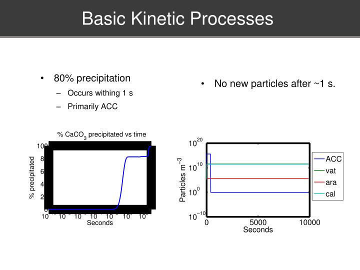 Basic Kinetic Processes