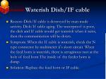 waterish dish if cable