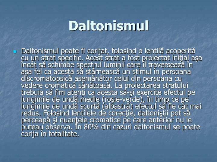 Daltonismul