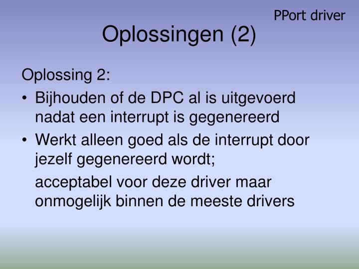 PPort driver
