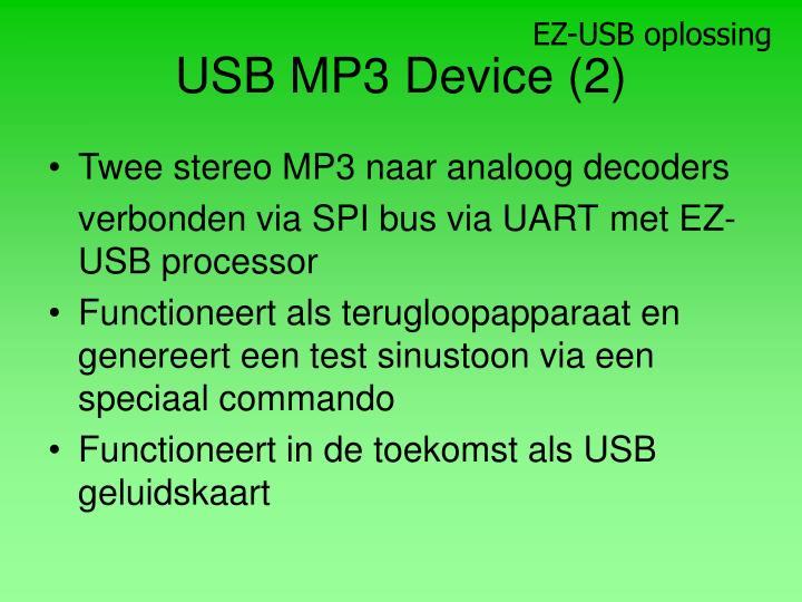 EZ-USB oplossing