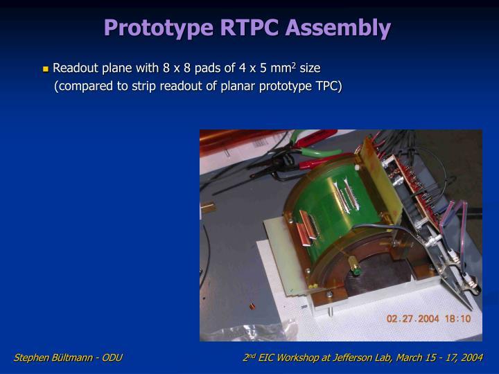 Prototype RTPC Assembly
