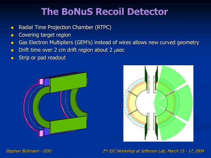 The BoNuS Recoil Detector