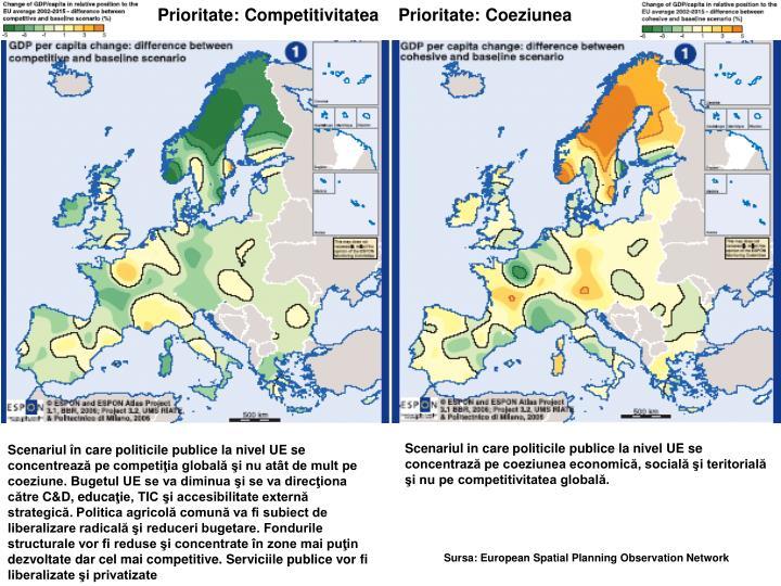 Prioritate: Competitivitatea