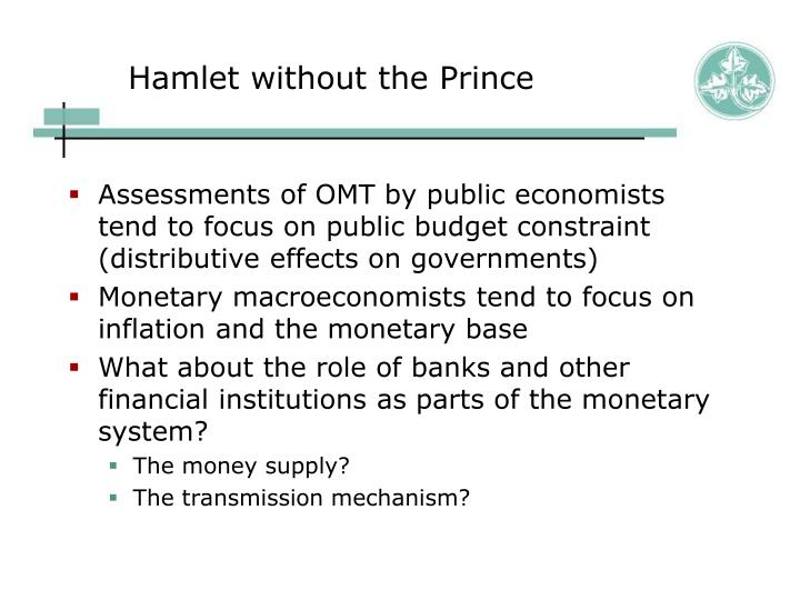Hamlet without the Prince