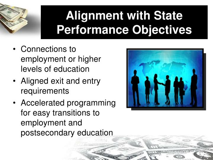 Alignment with State Performance