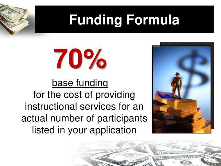 Funding Formula