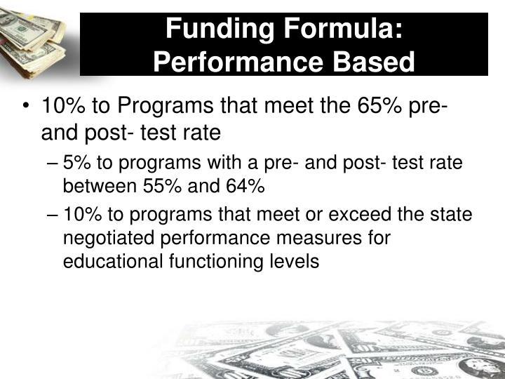 Funding Formula: