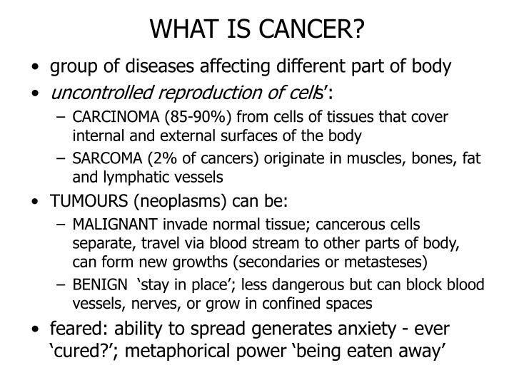 What is cancer