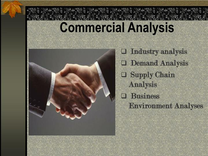 Commercial Analysis