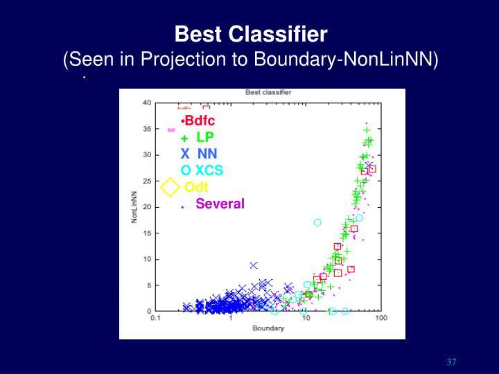 Best Classifier