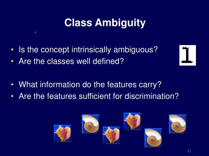 Class Ambiguity