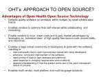 oht s approach to open source