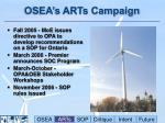 osea s arts campaign1