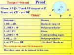 tangent secant proof