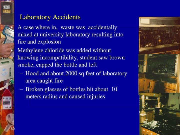 Laboratory Accidents
