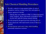 safe chemical handling procedures1