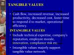 tangible values1