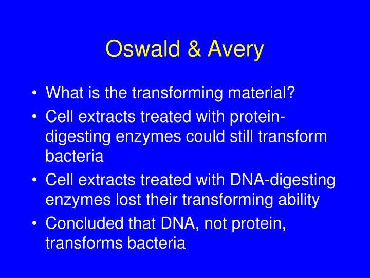 Oswald & Avery