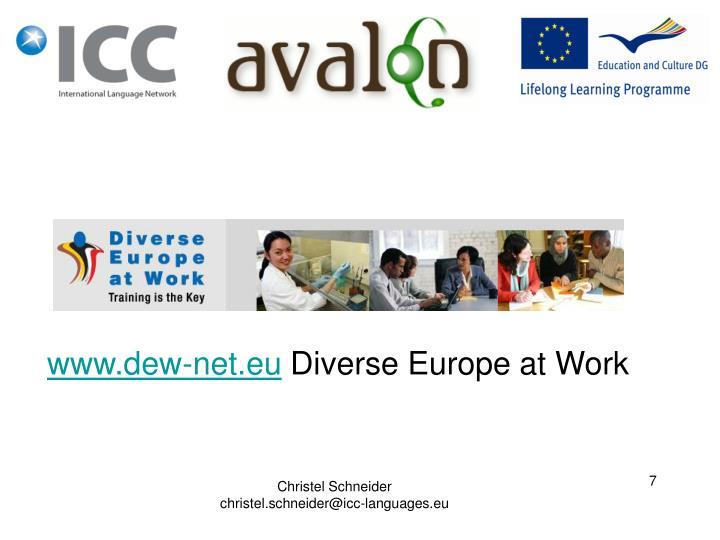 www.dew-net.eu