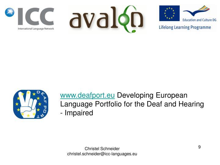 www.deafport.eu