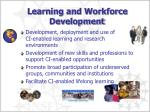 learning and workforce development