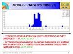module data hybrids 1
