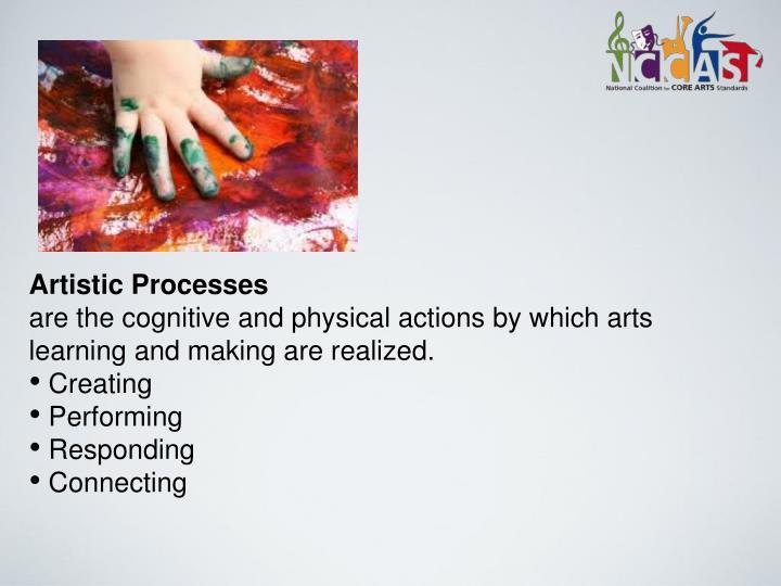 Artistic Processes