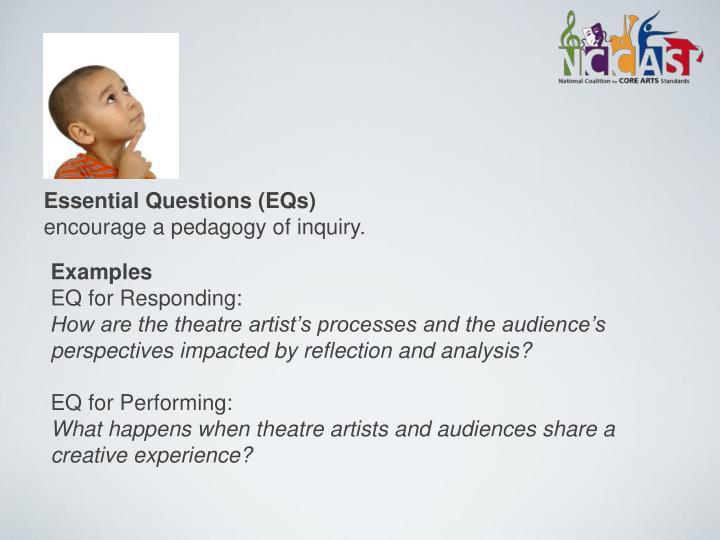 Essential Questions (EQs)